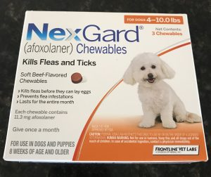 flea medicine for small dogs
